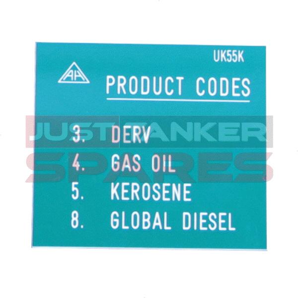 Alfons Haar Product Code Label