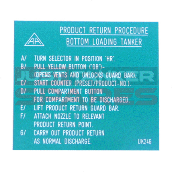 Alfons Haar Product Return Procedure