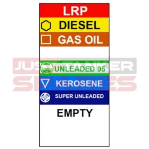 Grade Product Indicator Label