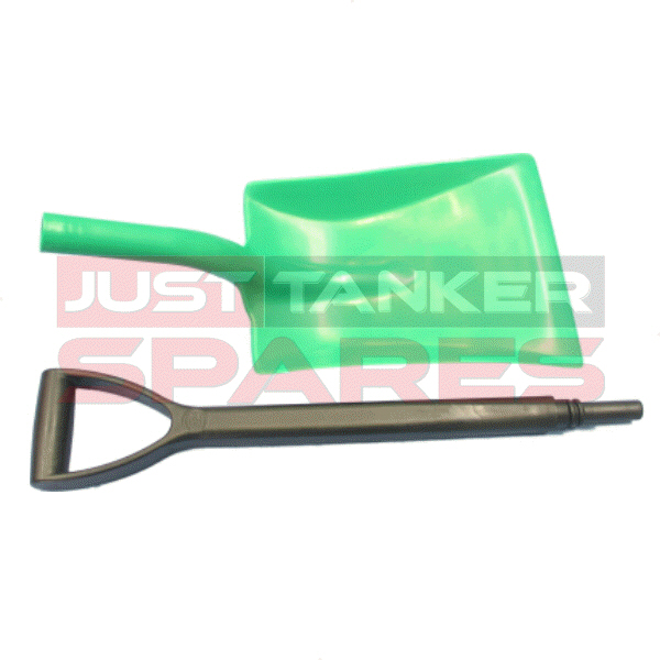 Plastic Shovel Green