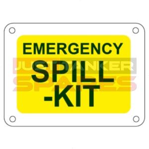 Spill Kit Sticker