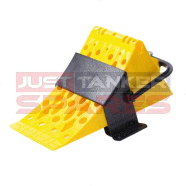 Wheel Chock Plastic = L500 x W280 x H200mm
