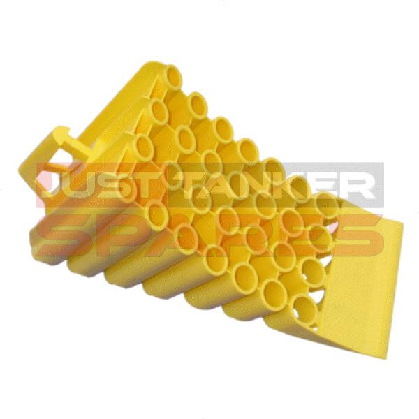 Wheel Chock Plastic = L495 x W200 x H250mm